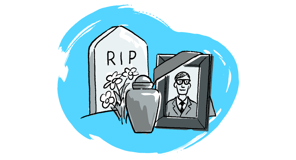 What happens if the executor dies before handling probate?